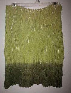 O'NEILL Women's Cotton Stretch Knit Skirt Size Small