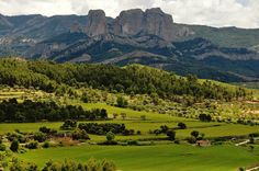 A landscape #Picasso saw when he was young, in Horta de Sant Joan,Terra Alta, #Catalonia