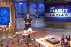 Healthy Habit Backlash, Pt. 1 (just for laughs- my television debut)