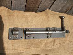 Blacksmith custom made Barrel Bolt for your barn, stables, workshop or home
