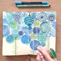 Visual art journaling inspiration art journals, draw at mixed media. Journal D'art, Art Journal Pages, Art Journals, Nature Journal, Journal Ideas, Bullet Journal, Kunstjournal Inspiration, Art Journal Inspiration, Arte Sketchbook