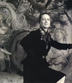 I'm getting a Fran Leibowitz vibe here. Fran is Diana Vreeland in another dimension? DIANA VREELAND by CECIL BEATON