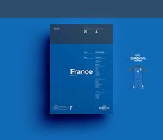Perfectly Minimal Posters Pay Tribute To Euro 2016 Teams - UltraLinx