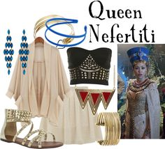 """""""Queen Nefertiti"""" by companionclothes ❤ liked on Polyvore"""