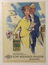 Werbung ca A5: 4711 Echt Kölnisch Wasser  1964 (2210145)