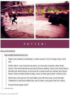 Potter! This is literally one of the best moments of all the movies and then they cut it out!