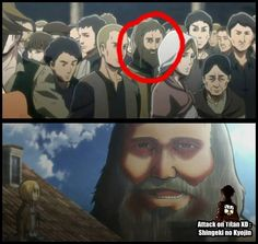 WELP this further confirms the theory that eaten humans transform into titans.<<<that's actually wrong. I won't tell you what it actually is though because spoilers Manga Anime, Anime Meme, Attack On Titan Funny, Attack On Titan Anime, Armin, Yolo, My Hero Academia, Eremika, Noragami