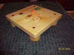 Butcher Block Cutting Board by WenJammerCreations on Etsy, $45.00