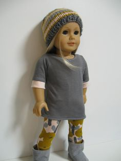 American Girl Doll Clothes--Spring Pretty 3 piece. $26.00, via Etsy.