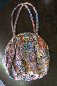9c3c5d842f Vintage 70s Handbag Purse Hippy Boho Ethnic Peasant Cotton Floral Oversize  Big  Richmark  Hobo  Everyday