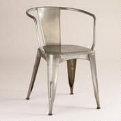 Jackson Metal Tub Chair for kitchen table - maybe need cushion?  $79.99 each World Market