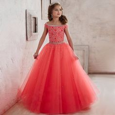 79.73$  Buy here - http://aliwhe.worldwells.pw/go.php?t=32683538324 - Adorable Girl Flower Dresses Satin Voile Appliques Sequin Tulle Elegant Ball Gown Strapless Evening Vestido Meninas Dresses 2017 79.73$