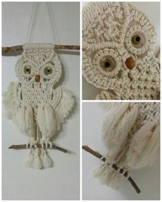 #Macrame #wallhanging (25X43cm): 4.5mm cotton rope, #driftwood rod. Designed & made by H.S.Kim, Nov.12, 2017.