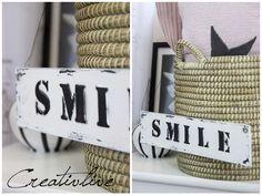 DIY 3D- und Maritimes Schild Diy 3d, Magazine Rack, Decor, Paper, Shop Signs, Decoration, Decorating, Deco
