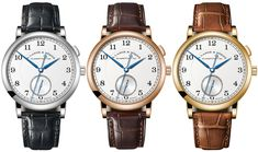 """Paying tribute to their founder's contribution, A. Lange & Söhne unveils the A. Lange & Söhne 1815 """"Homage to Walter Lange"""" watch. Pink And Gold, White Gold, Most Popular Watches, Watch Blog, Wide Stripes, Cool Watches, Dream Watches, Hand Engraving, Black Enamel"""