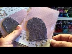 Shabby Easter Bunny Cards for Nit Wit Collections - YouTube
