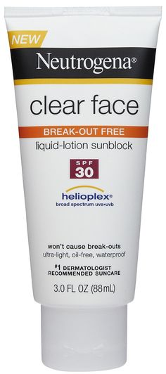 The best sunblock....ever! It protects and I don't break out like a 14 yr old. Wish I would have had this years ago! A must try for people with oily acne-prone skin..seriously.