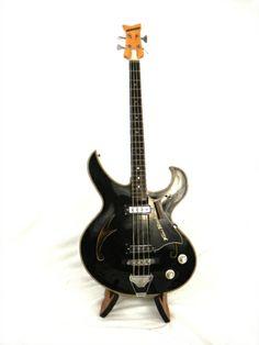 1967 Teisco Firebird - B Black > Guitars : Bass - Empire Guitars RI   Gbase.com