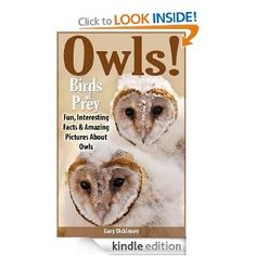 Free today 8.30.2013 Owls: Birds of Prey! A Kids Book About Owls Featuring The Barn, Snowy, Screech Owls and Many More, With Amazing Pictures, Information And Fun Facts For Kids