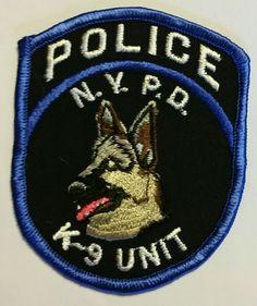 NYPD- K9 unit
