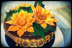 Sunflower cake - Torta Girasole