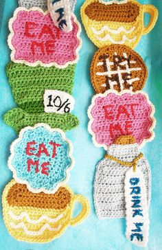 Twinkie Chan's tea party scarf