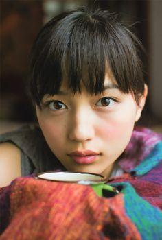 bpr:  川口春奈 UTB+ 2013年9月号