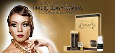 Permanente y tinte de pestañas Golden Argan Oil