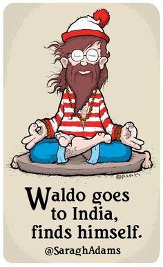 Hippie Waldo..he looks just like my Joe..hahaha