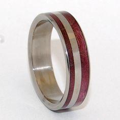 Minter & Richter - Titanium Rings | Unique Wedding Rings | Titanium Rings | Minter + Richter