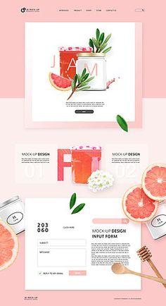 Showit Website Template Noa Olivia - Rebel Without Food Web Design, Menu Design, Page Design, Banner Design, Branding Design, Website Design Layout, Web Layout, Layout Design, Graphic Design Tips