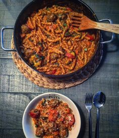 One Pot Meatball Pasta - Ein Häppchen Liebe