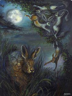 Jean Stote | ACRYLIC | Lunar Magic
