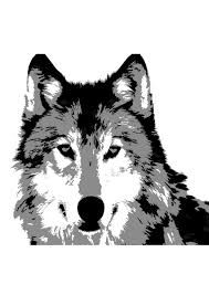 Image result for wolf stencil