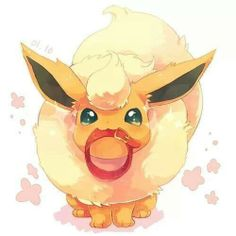 Flareon Before Twitch Plays Pokémon everyone loved this little guy.
