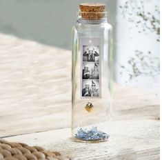 Best Friend Gifts, Gifts For Friends, Gifts For Her, Mini Bottles, Glass Bottles, Message In A Bottle, Friend Photos, Thoughtful Gifts, Photo Booth