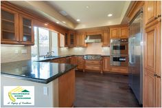 Gourmet kitchen of Gerald in Encino by California Home Builders