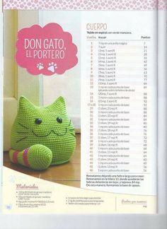 Mesmerizing Crochet an Amigurumi Rabbit Ideas. Lovely Crochet an Amigurumi Rabbit Ideas. Crochet Doll Pattern, Crochet Patterns Amigurumi, Crochet Dolls, Knitting Patterns, Cat Pattern, Crochet Home, Cute Crochet, Crochet Crafts, Crochet Baby