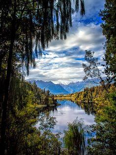 Lake Matherson, NZ