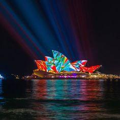 Light Art Festival Vivid Sydney