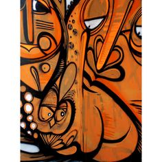 Graffiti Brazil: Falge | Abduzeedo | Graphic Design Inspiration and... ❤ liked on Polyvore