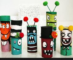 Cheap Craft Ideas for Kids - Little Monsters -  Click Pic for 19 Quick & Easy Christmas Crafts