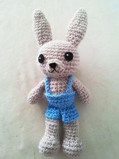 patron gratuito conejo amigurumi crochet bunny english pattern