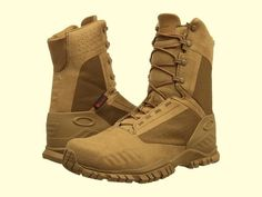 Botas Tacticas Militares* Oakley Si-8 Coyote * Envio Gratis Military Shoes, Military Fashion, Mens Fashion, Tactical Shoes, Tactical Wear, Oakley Tactical, Badass Outfit, Cool Boots, Outdoor Gear