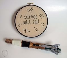 Silence Will Fall  Doctor Who Inspired by ThePhantomMoon on Etsy, $38.00