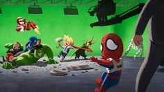 Avengers and Marvel cute art!!This Is Not The Place For You