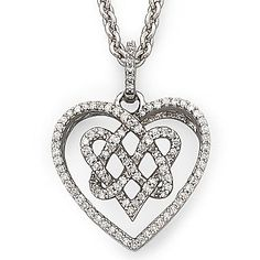 nicole by Nicole Miller® Diamond Pendant 1/4 CT. T - jcpenney