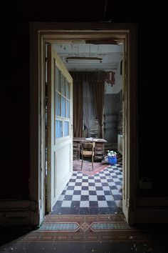 The office | an abandoned chateau in Belgium, by LeLuxographe