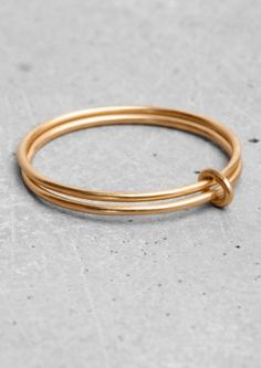 Lara Melchior double ring | & Other Stories