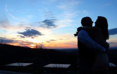 An Iris Inn wedding and a gorgeous sunset.